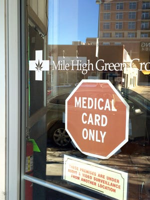 Customers at this Denver medical marijuana store will be able to buy marijuana from Nevada dispensaries starting early next year. Nevada is one of a handful of states that permit medical marijuana cardholders from other states to use their cards in Las Vegas and other Sagebrush State cities.