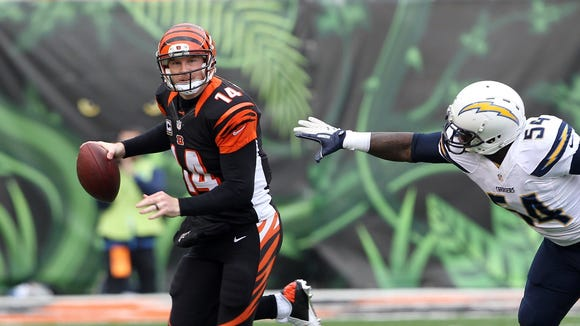 Andy Dalton spoke about his contract situation on Monday.