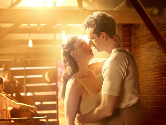 Carmen Cusack and Paul Alexander Nolan play young lovers