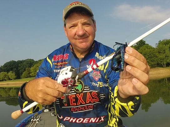 Pro angler Mike DelVisco is familiar with the Middle Tennessee area because he lives in the state.