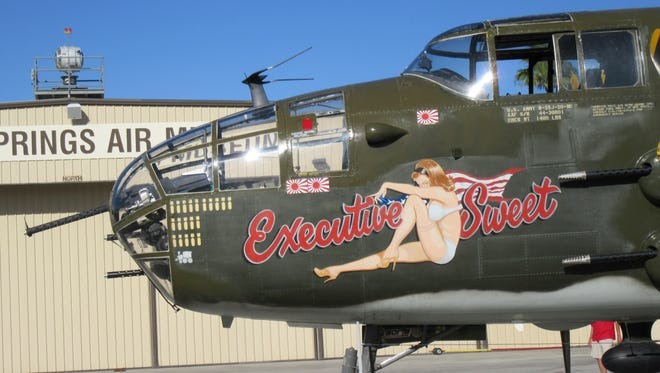 """The B-25 Mitchell Bomber """"Executive Sweet."""""""