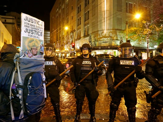 Police Protests Seattle