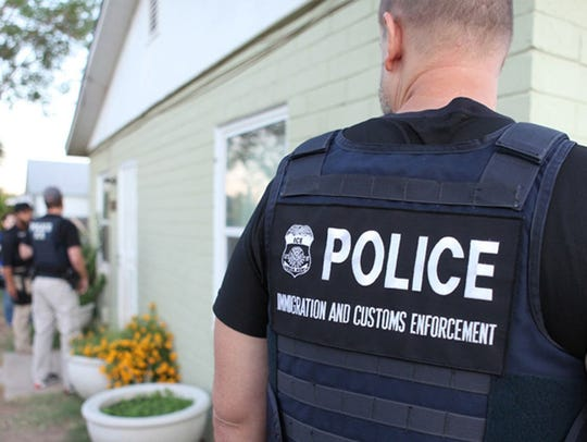 Immigration and Customs Enforcement officers
