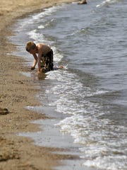 The U.S. Army Corps of Engineers closed two beaches