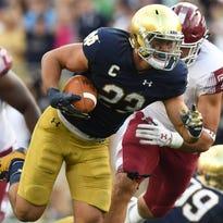 Notre Dame football 2017 ECHOES award winners
