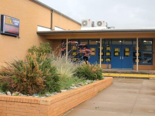 "Buena Vista Elementary earned a ""D"" school grade, making"