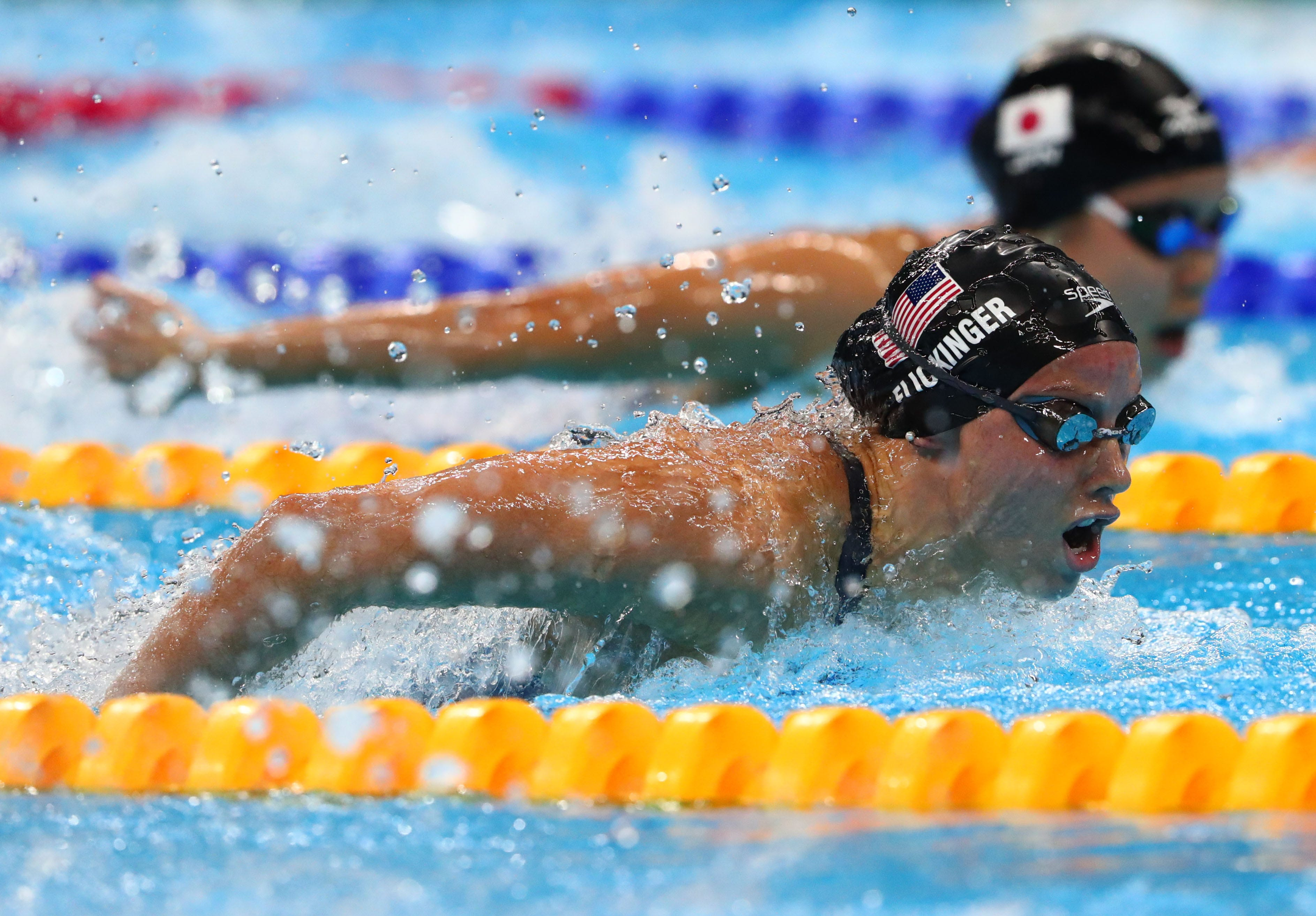 Olympics: Swimming Evening Session