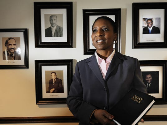 New Covenant church hails 1st female pastor