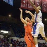 Louisiana Tech forward Xavian Stapleton scored seven points off the bench in Saturday's win over UTSA.