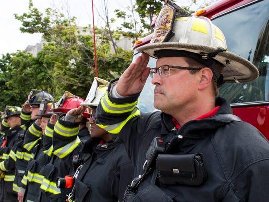 Milwaukee Fire Department Deputy Chief Aaron Lipski