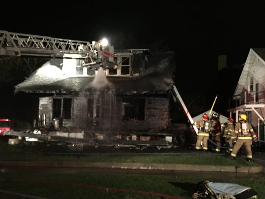 A fire at 531 Ninth Ave. N. in Wisconsin Rapids displaced