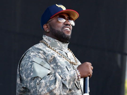 Big Boi, best known for being a member of hip hop duo Outkast with André 3000, is performing  7:30 p.m. Friday at The Inlet in Fort Pierce.