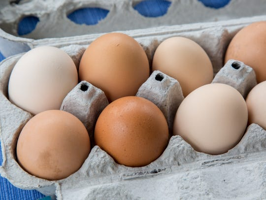 Some vendors at local farmers market will sell farm fresh eggs.