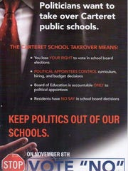 A 2016 flyer paid for by the NJEA November School Elections