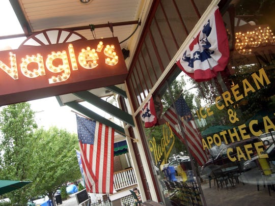 Nagles has popular sandwich and salad options.