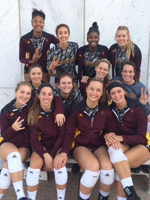 No. 13 ASU volleyball broke a four-match losing streak Friday with a 3-0 win over Utah.
