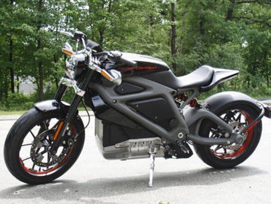 Harley Davidson electric motorcycle 0619