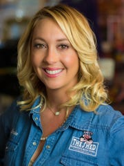 Brooke Orrison-Lewis is co-owner of The Shed Barbeque
