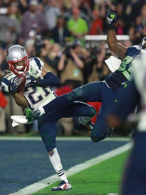 Patriots strong safety Malcolm Butler, left, who intercepts a pass in the final moments of Super Bowl LXIX to help the Patriots win their fourth championship, was an undrafted free agent.