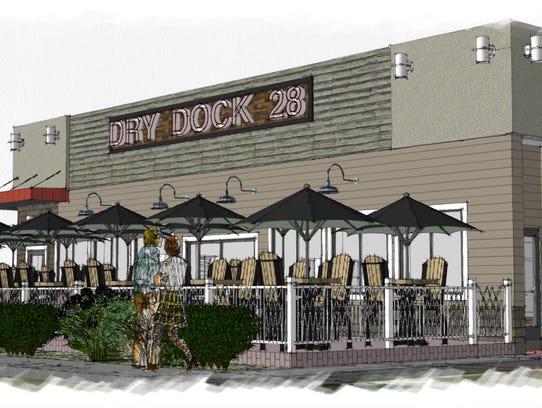 Dry Dock 28's renderings by Steven J. Cirile,LLC courtesy