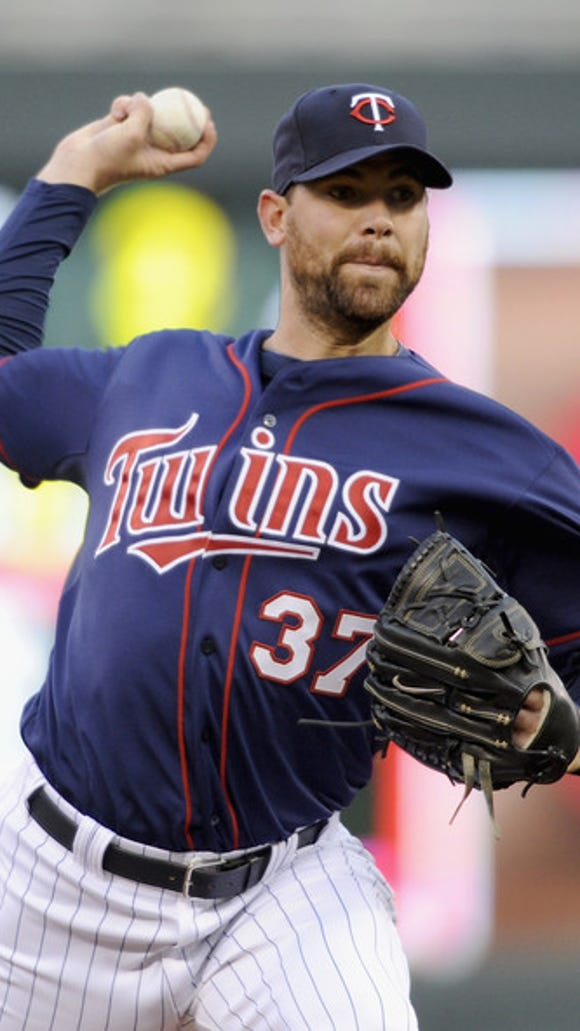 Twins pitcher Mike Pelfrey is on the mend from a strained groin.