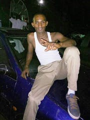 Taxi driver Mohamed Sall, 34, in Bo South an inland