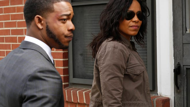 Stephan James and Sanaa Lathan star in 'Shots Fired.'