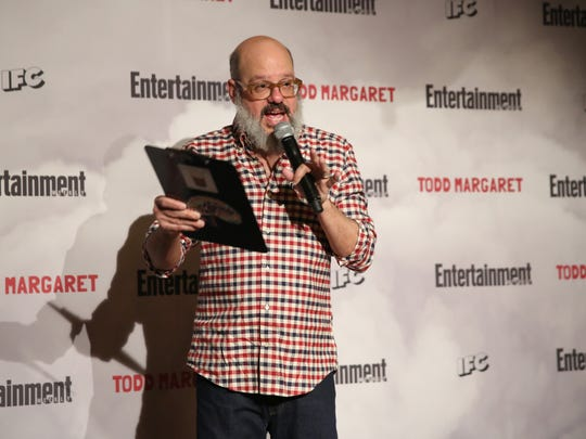 Comedian and actor David Cross, pictured at the Roxy