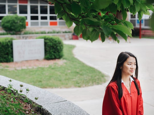 Vivian Ho, a graduating senior from Everett High School,