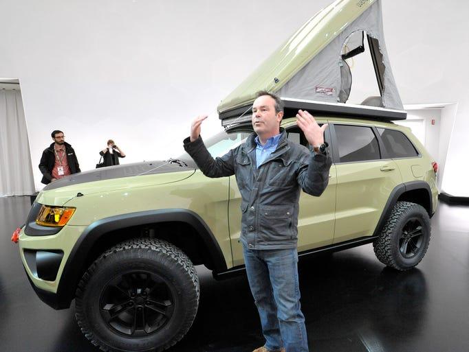 Mark Allen, head of Jeep Brand Design, talks about