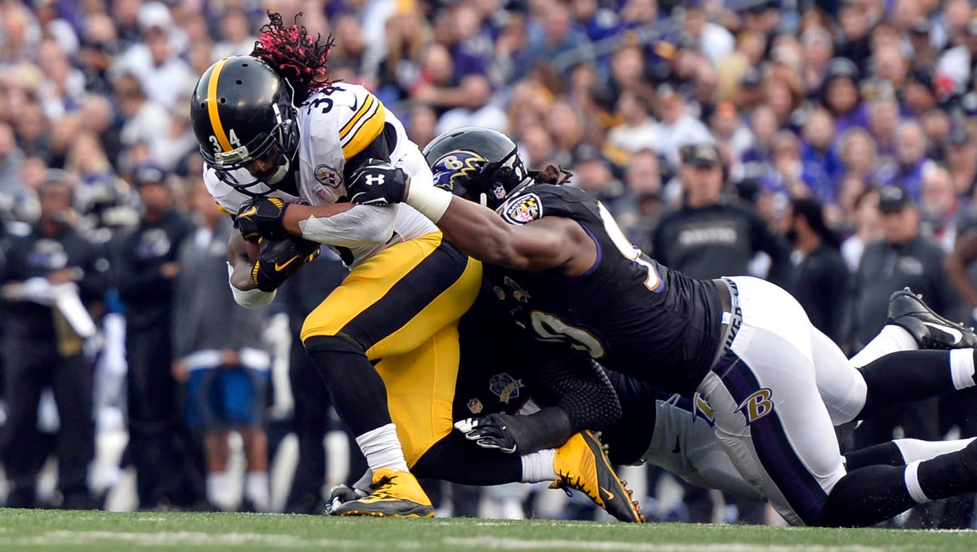 Steelers' running game on uncertain ground after DeAngelo ...