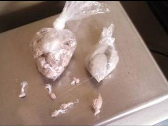 Heroin seized by Springfield police during a recent