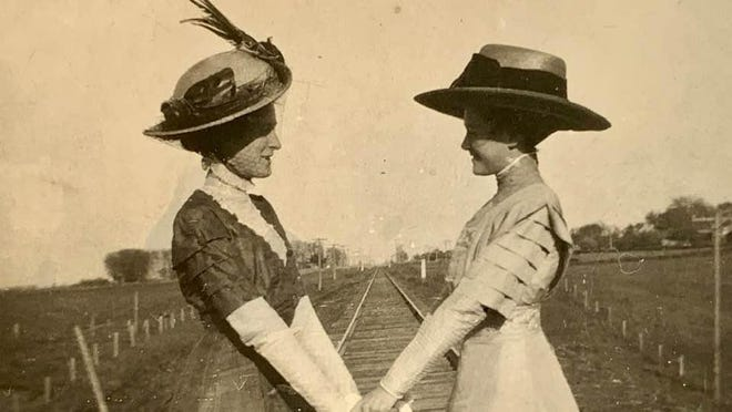 A photo from about 1910, taken in Stark County of Ella Silliman, left, and Effie Adams Henderson Bergin, reflects some of the attire you can expect to see at  Toulon's Stark County Historical Society live history event Oct. 17.