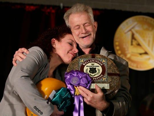 Third-place winner Marieke Penterman of Holland's Family