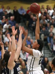 "Bishop Kearney center/forward Saniaa Wilson, a 6-foot sophomore in her fourth varsity season, has ""well over 10 offers"" so play on scholarship, according to coach Kevan Sheppard."