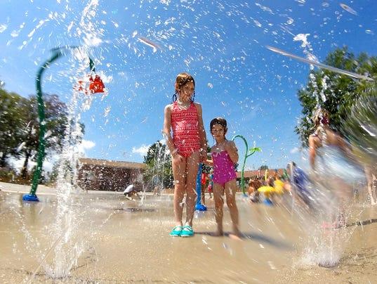PHOTO: Splash Pad to beat the heat