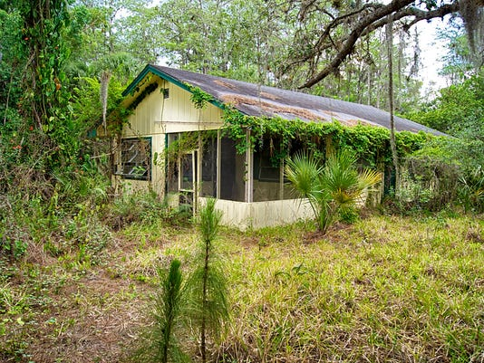 old florida abandoned home