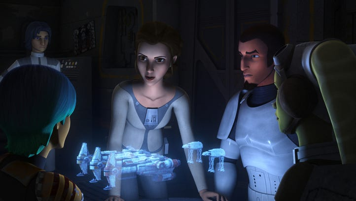"Princess Leia Organa is getting a new action figure based on her appearance in ""Star Wars Rebels."""