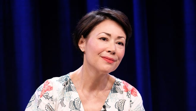 Executive producer/reporter Ann Curry of 'We'll Meet Again' speaks during the PBS portion of the 2017 Summer Television Critics Association Press Tour in Beverly Hills.