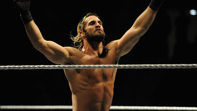 Seth Rollins appears at WWE live event in Montgomery.