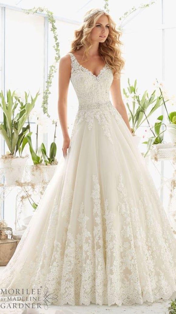 Wedding Dress Intricate Lace