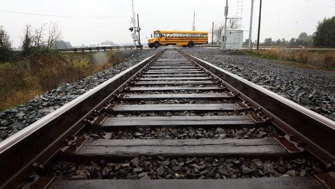 A 13-year-old boy died after being hit by a train on tracks near Waconda Road north of Brooks.