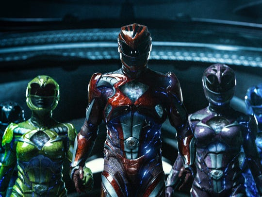 It's morphin' time for five teenagers with attitude
