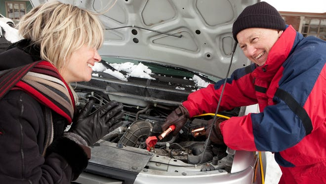 You don't want to risk needing a jump in the coming cold weather. Make sure your car battery is ready.