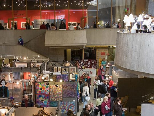 The 44th annual Festival of the Arts will be held on Sunday at the Noel Fine Arts Center on the UW-Stevens Point campus.