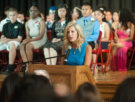 Landis Intermediate School's final graduation