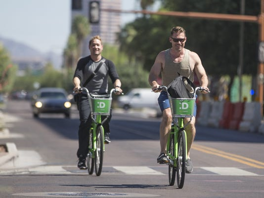 Tempe to become 3rd Valley city in bike share