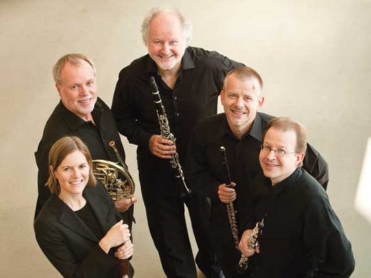 The Berlin Philharmonic Wind Quintet performs Feb. 16.
