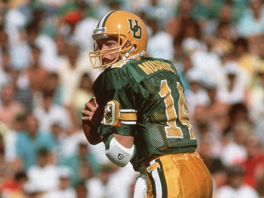 Oregon quarterback Bill Musgrave.