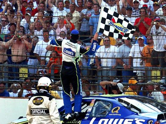 Jimmie Johnson, 2006 Brickyard 400 champ